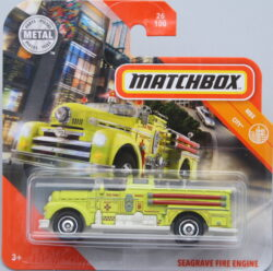 Matchbox Seagrace Fire Engine - Yellow 1:64