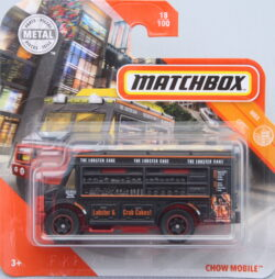 Matchbox Chow Mobuile Black 1:64