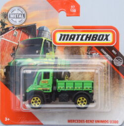 Matchbox Mercedes-Benz Unimog U300 - Green 1:64
