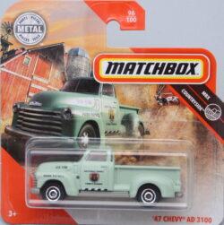 Matchbox Chevrolet 47 AD3100 - Green 1:64