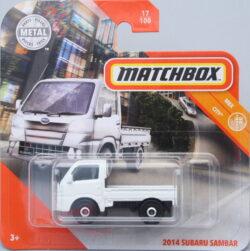 Matchbox Subaru 2014 Sambar - White 1:64