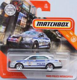 Matchbox Ford Interceptor - Police 1:64