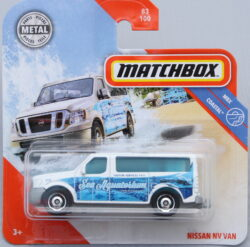 Matchbox Nissan NV Van - White 1:64