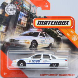 Matchbox Chebrolet Caprice Classic - Police 1:64
