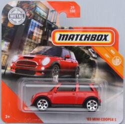 Matchbox Mini 03 Cooper S - Red 1:64