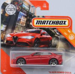 Matchbox Alfa Romeo 16 Guilia - Red 1:64