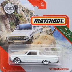 Matchbox Ford 61 Ranchero - White 1:64