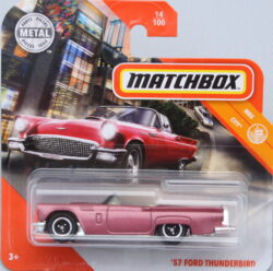 Matchbox Ford 57 Thunderbird - Pink 1:64