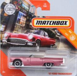 Matchbox Ford 57 Thunderbird - Pink 1:64