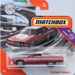 Matchbox Chevrolet 75 Caprice - Brown 1:64