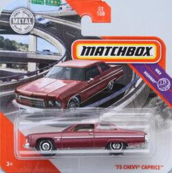 Matchbox Chevrolet 75 Caprice - Brown 1:64
