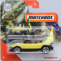 Matchbox Big Banana Car 1:64