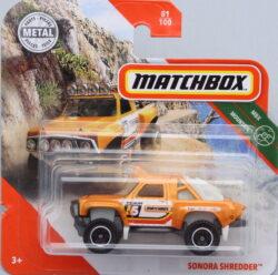 Matchbox Sonora Shredder Yellow 1:64