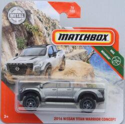Matchbox Nissan Titan Warrior Concept - Dark Grey 1:64