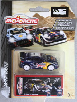 Majorette Ford  Fiesta - Red Bull - WRC 1:64