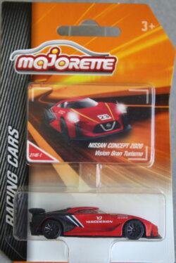 Majorette Nissan Vision Gran Turismo - Concept 2020 - Red