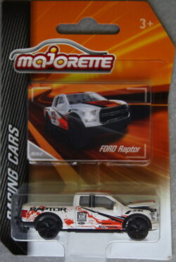 Majorette Ford  Raptor - White with red