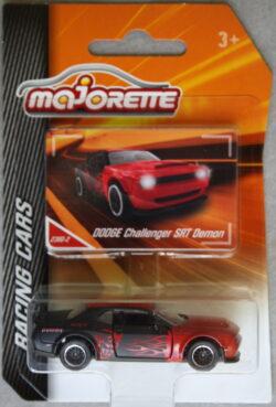 Majorette Dodge Charger SRT Demon - Red and Black