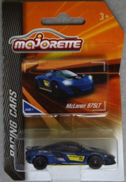Majorette McLaren 675LT - No 5 - Blue