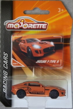 Majorette Jaguar F-Type R - SV - Orange