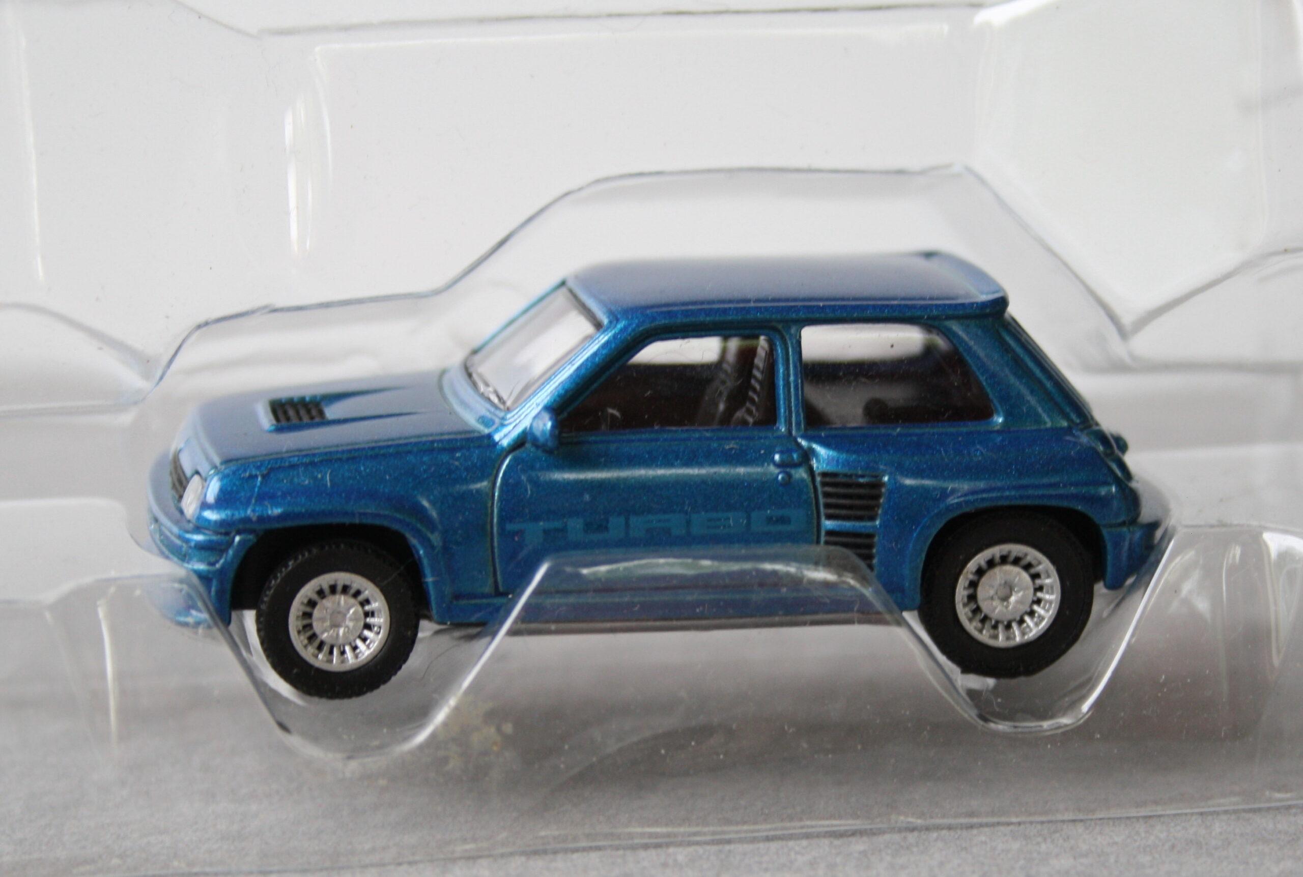 Renault 5 Turbo Loose  Blue Norev 1:64