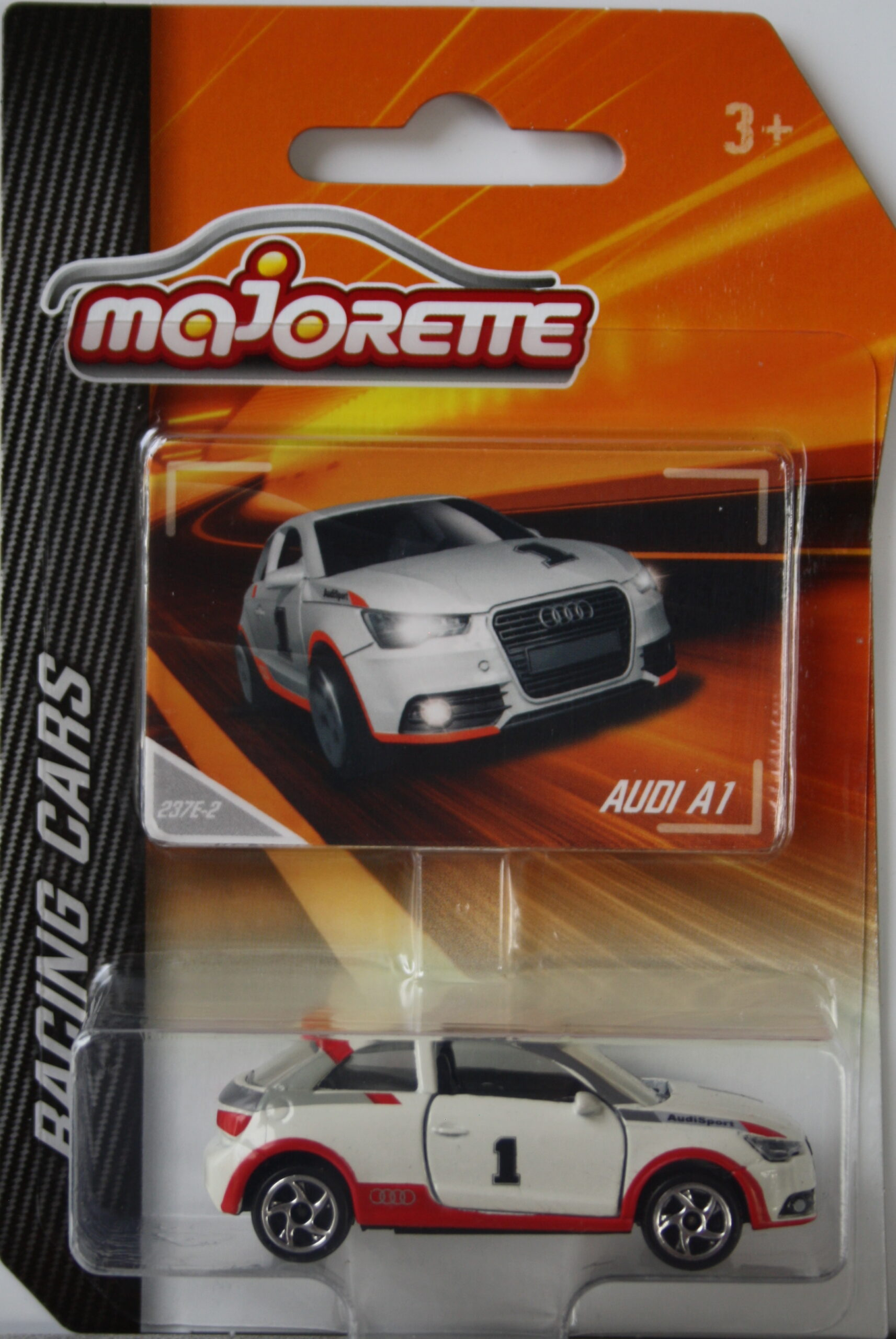 Majorette Audi A1 white no1