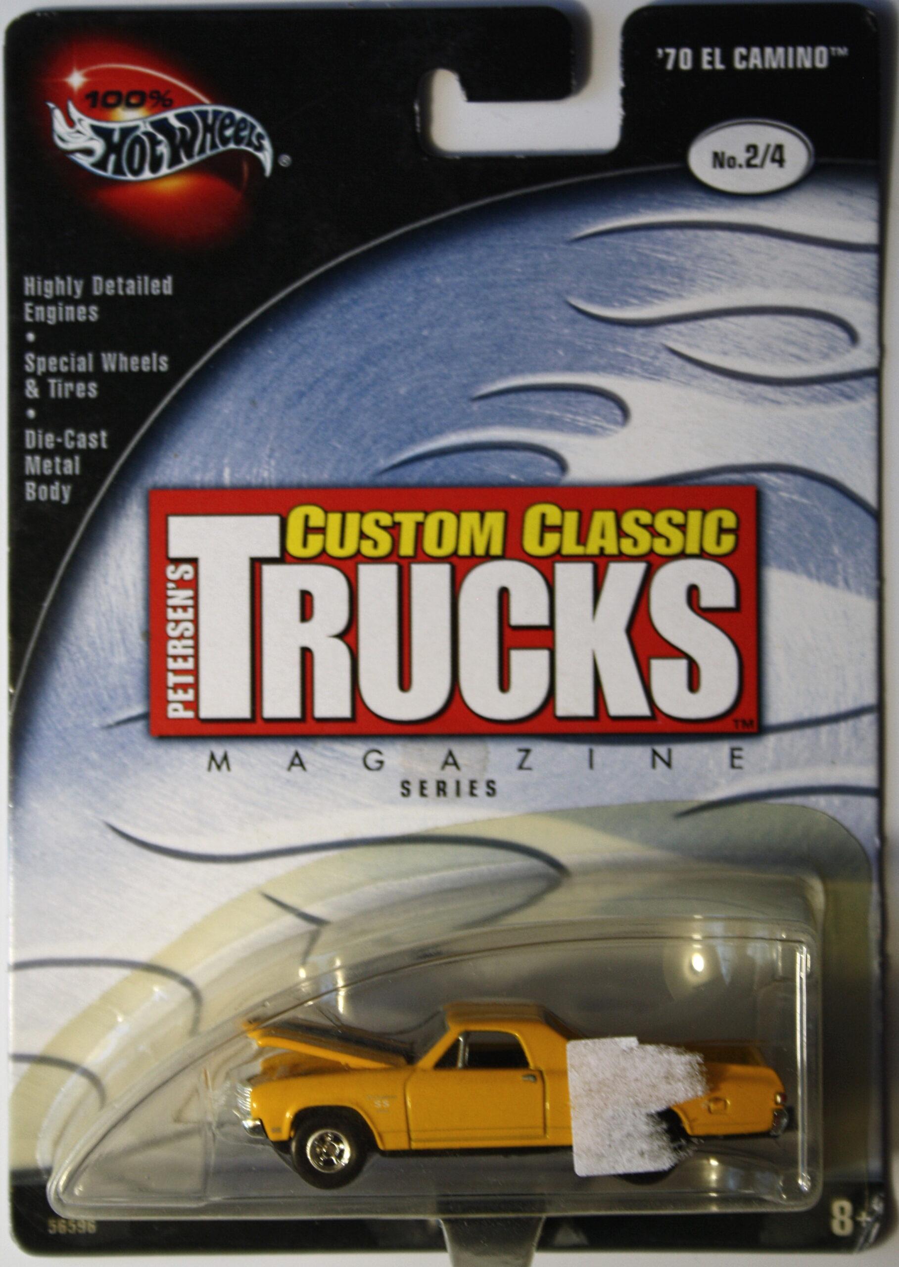 Hot Wheels Custom Classics Chevrolet 1970 El Camino Real Riders