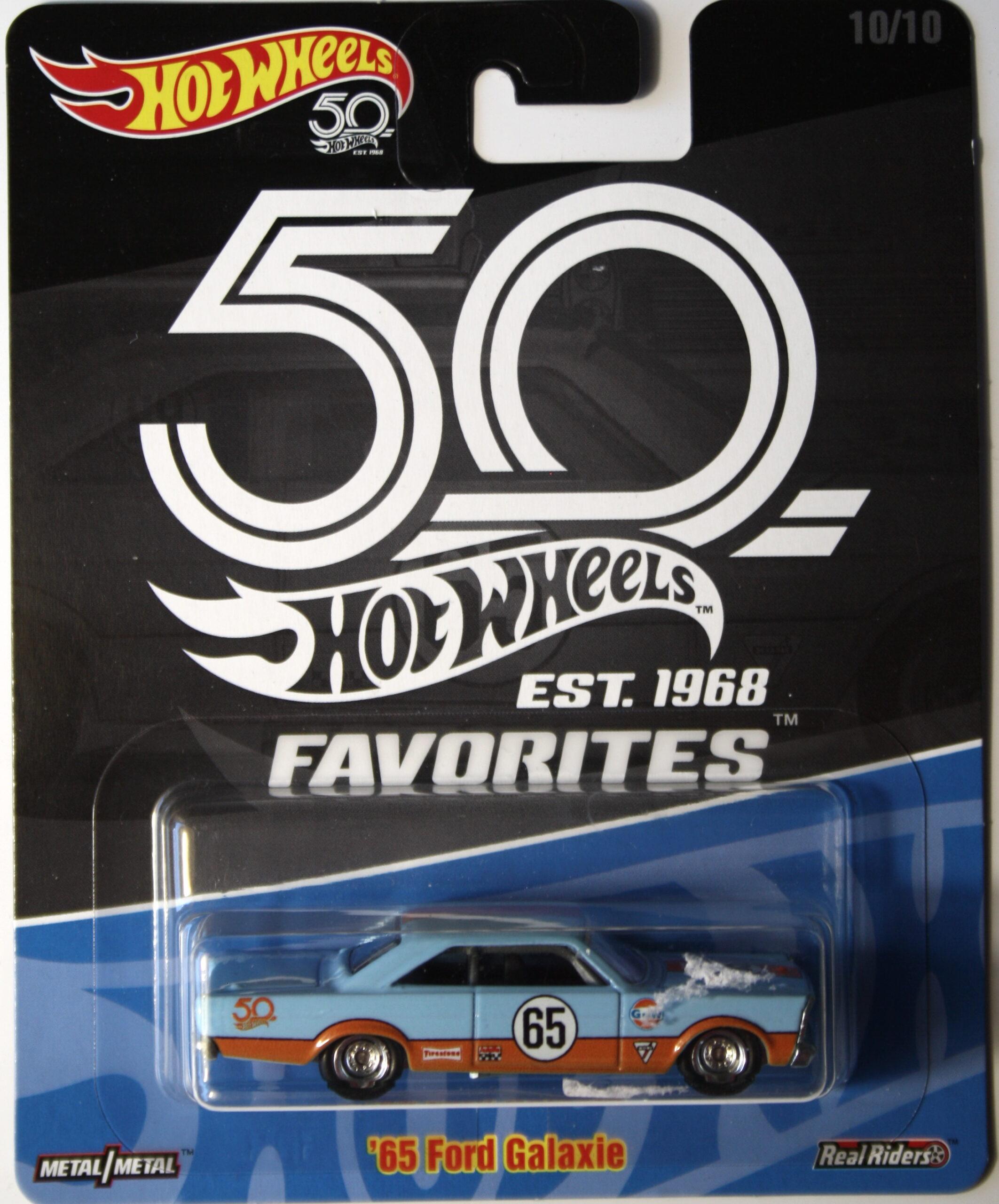 Hot Wheels Ford 1965 Galaxy Gulf Real Riders