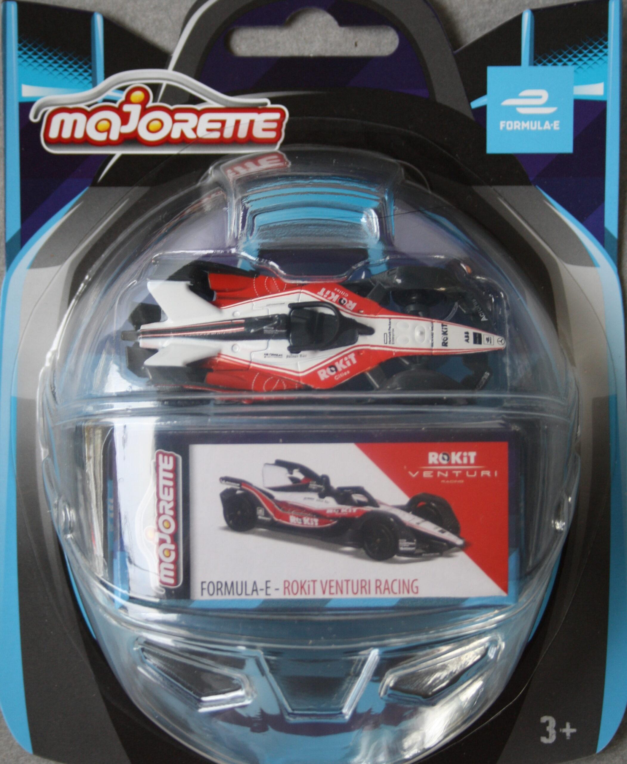 Majorette Formula E ROKiT Venturi Racing 1:64