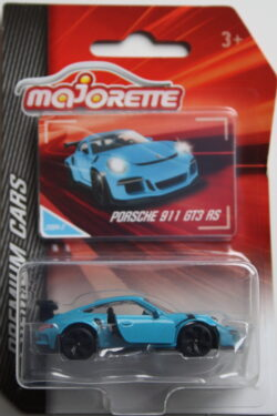 Majorette Porsche 911 GT3 RS - Blue 1:64