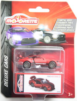 Majorette Ford Mustang GT - Red 1:64