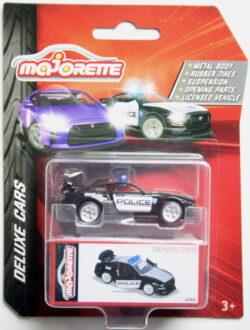 Majorette Ford Mustamg GT - Police - Black 1:64