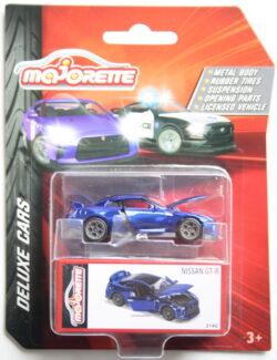 Majorette Nissan  GT-R - Blue 1:64