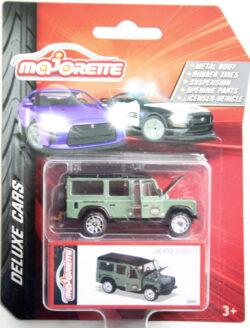 Majorette Land Rover Defender - Green 1:64