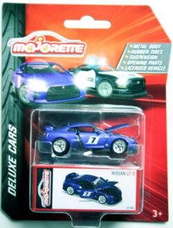 Majorette Nissan  GT-R - 7 - Purple 1:64