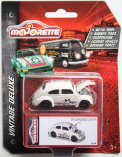 Majorette Volkswagen Beetle - 64 - White 1:64