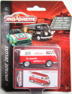 Majorette Volkswagen T1 - My favourite miniature car - Red and White 1:64