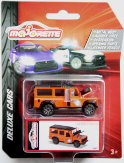 Majorette Land Rover Defender - Orange 1:64
