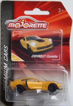 Majorette Chevrolet Corvette - Yellow 1:64