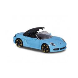 Majorette Porsche 718 Boxster - Cabriolet met soft top - Premium Cars 1:64