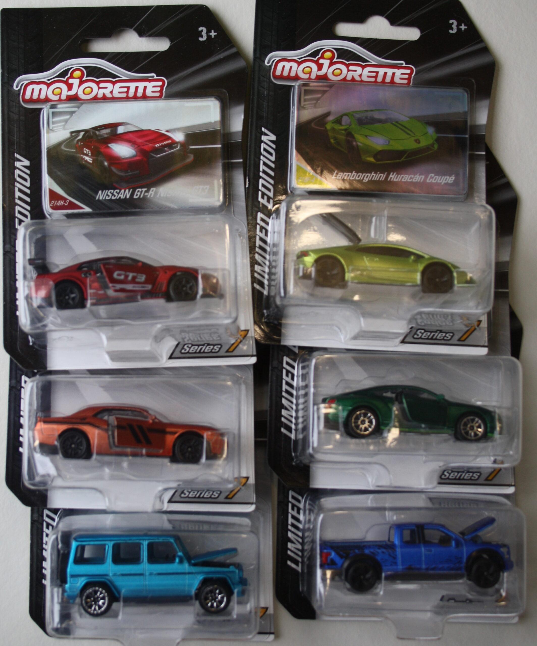 Majorette Limited series 7 set