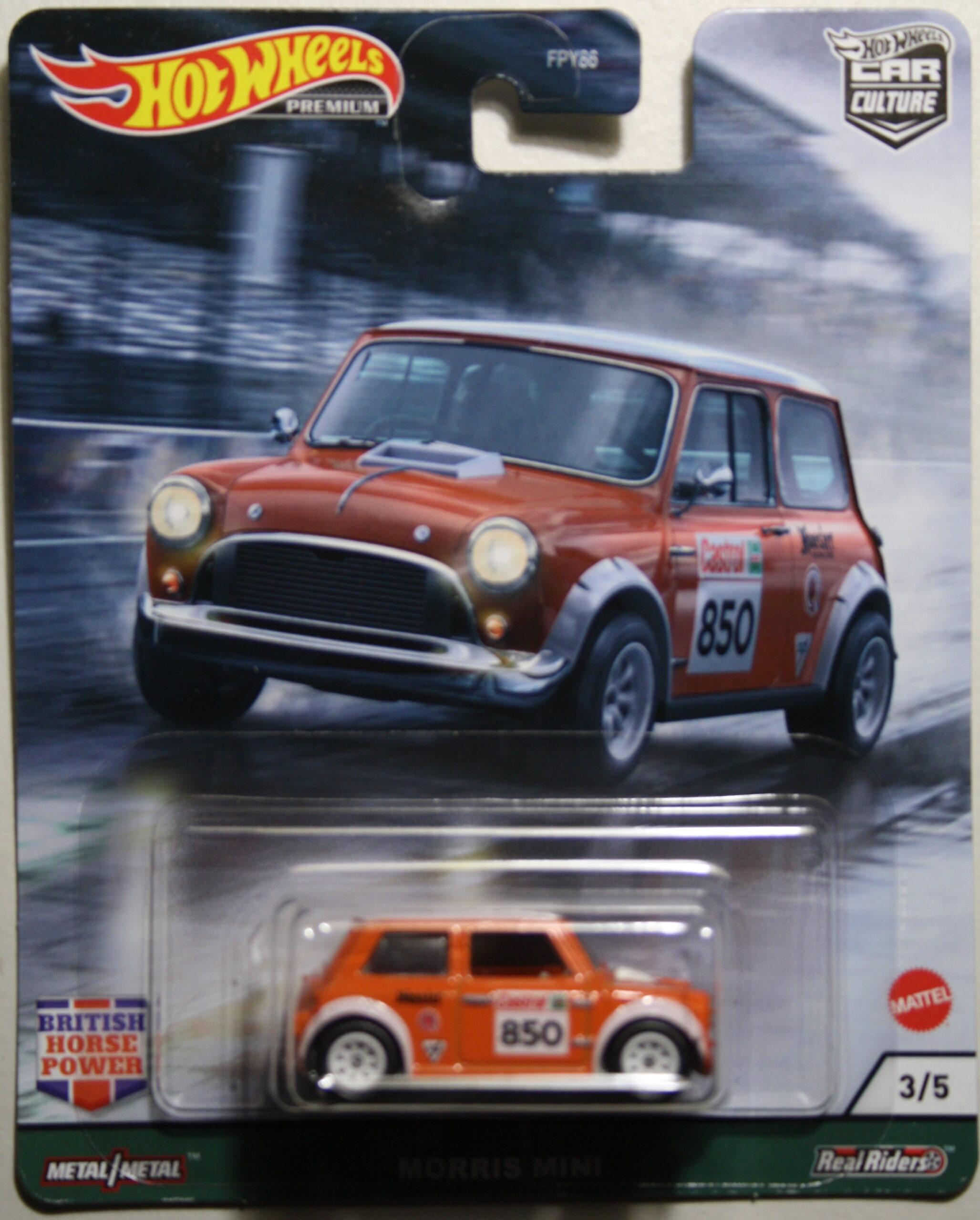 Hot Wheels Car Culture Morris Mini