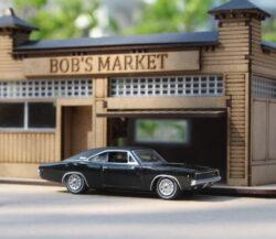 I-fabriek Bob's Market DIY Diorama Kit 1:64