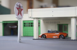I-fabriek Elkes Pontiac DIY Diorama Kit 1:64